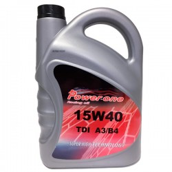 Aceite coche Power-One TDI A3-B4 15w40 5Ltrs