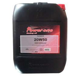 Aceite coche 20w50 Power-One Performance 20Ltrs
