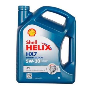 Aceite Shell 5w30 HELIX HX7AV 5Ltrs