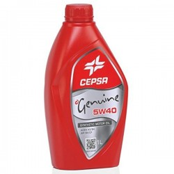 Aceite 5w40 Cepsa Genuine Synthetic 1Ltrs