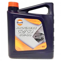 Aceite Gulf 5w30 Progress C2 C3 5Lt