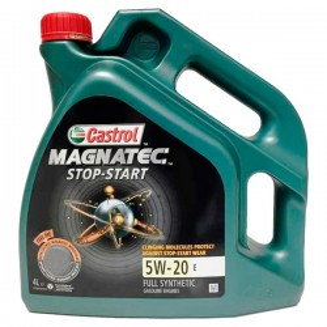 Aceite coche Castrol Magnatec Stop-Start 5w20 E 4Lt