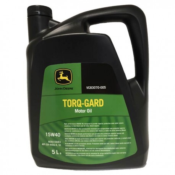 John Deere Torq Gard 15w40 5Ltrs.