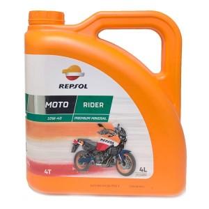 Aceite Repsol Moto Rider 4t 10w40 4Ltrs