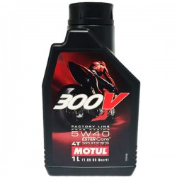 Motul 300V Moto 4t 5w40 FACTORY LINE ROAD RACING 1Ltr