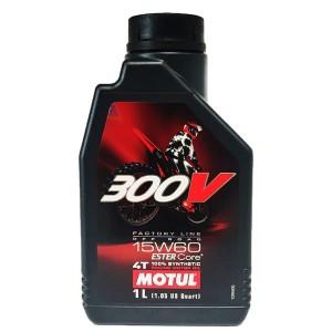 Aceite Motul 300V 4T 15w60 FL OFF ROAD 1Ltr