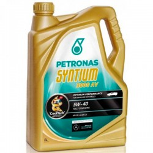 Aceite Petronas Syntium 5w40 3000AV 5Ltrs