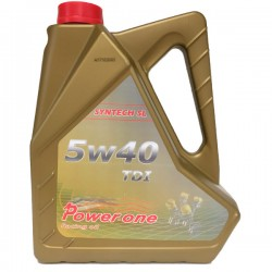 Aceite Power-One 5w40 TDI A3/B4 5Ltrs
