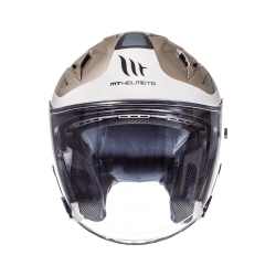 CASCO JET CROSSROAD BRILLO INVIERNO MT HELMET