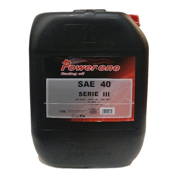 Pioneer Serie 3 SAE 30 y 40 25L