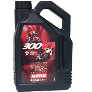 Motul 300V2 10w50 FL 4L