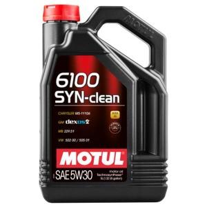 Motul 6100 SYN-Clean C3 5w30 5L