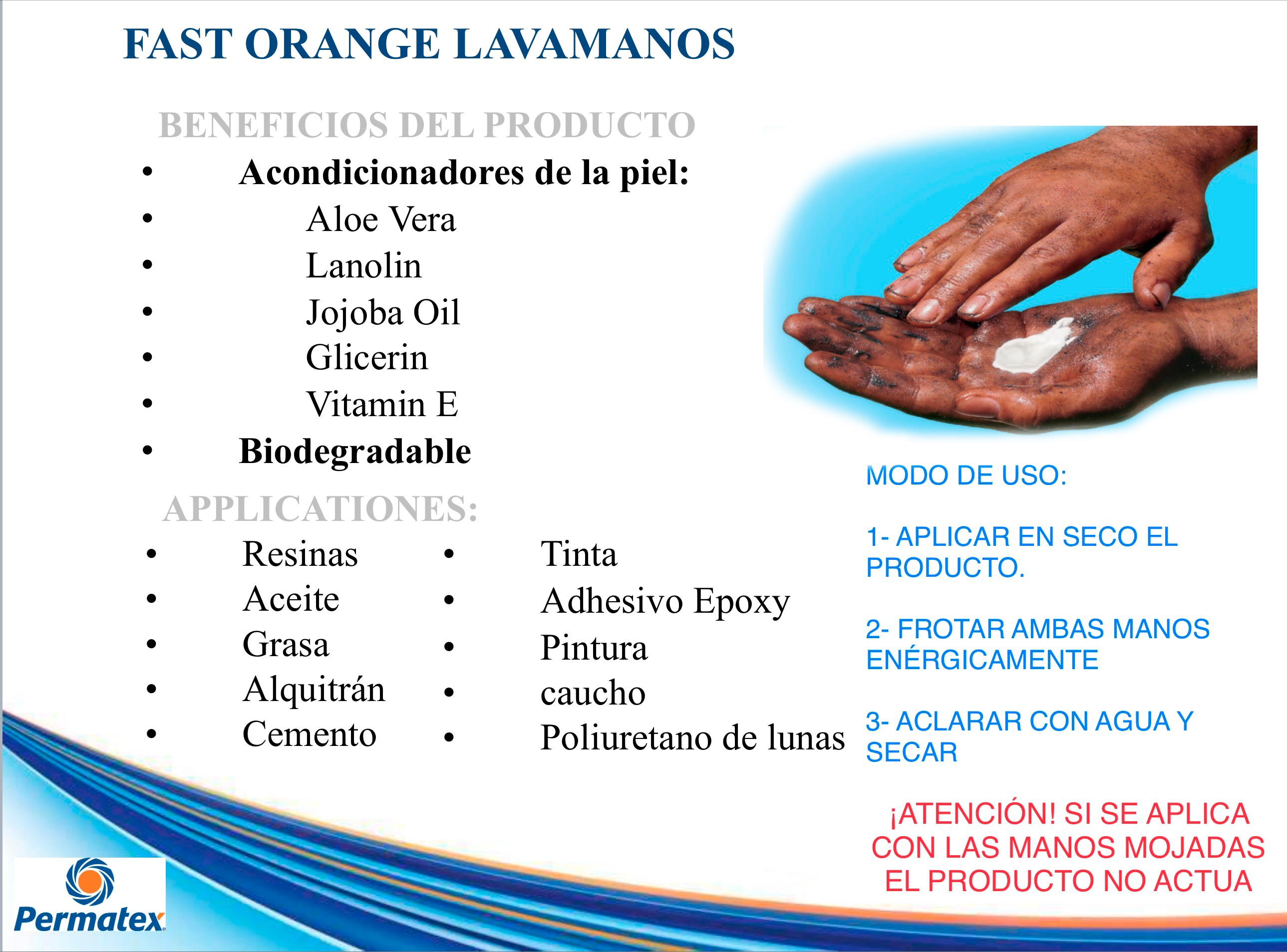 oferta lavamanos fast orange