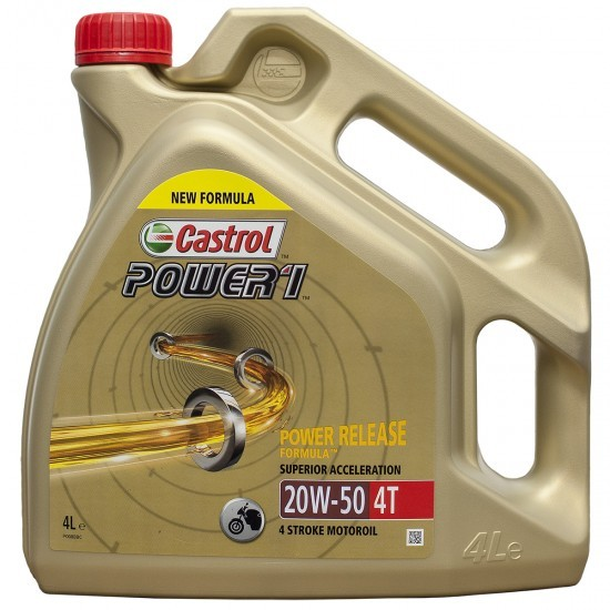 Aceite Castrol Power 1 4T 20w50 4ltrs