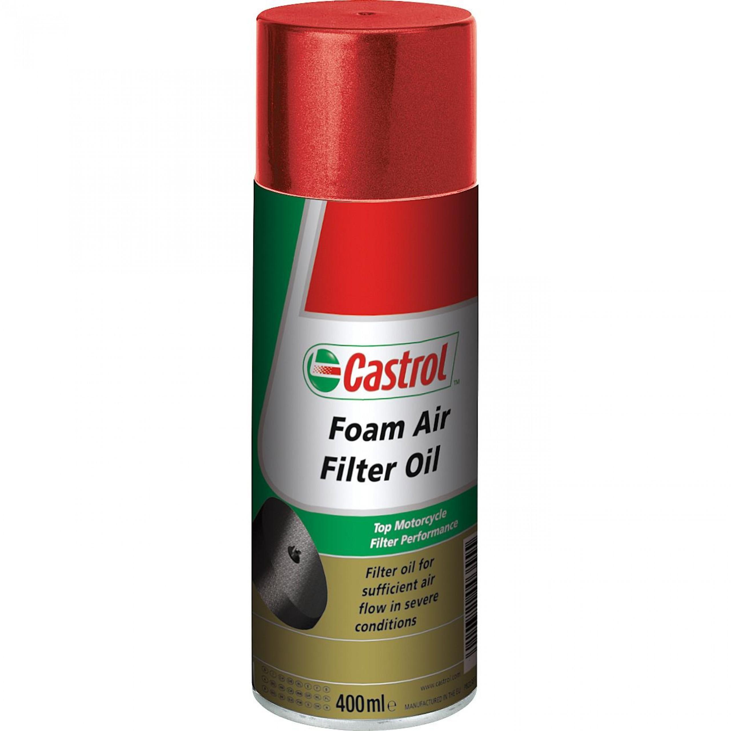 Castrol Moto Aceite filtro aire Foam Air Filter Oil 400ml