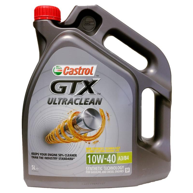 Castrol GTX Ultraclean 10w40 5L