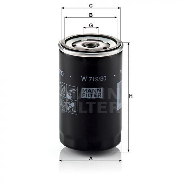 Filtro Aceite W719/30 MANN