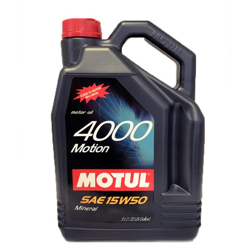 Motul 4000 Motion 15w50 5L