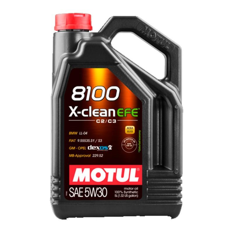 Motul 8100 5w30 X-Clean EFE C2/C3 5L