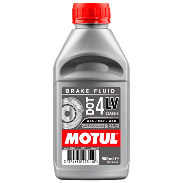 Liquido de frenos MOTUL DOT-4 LV 500ml