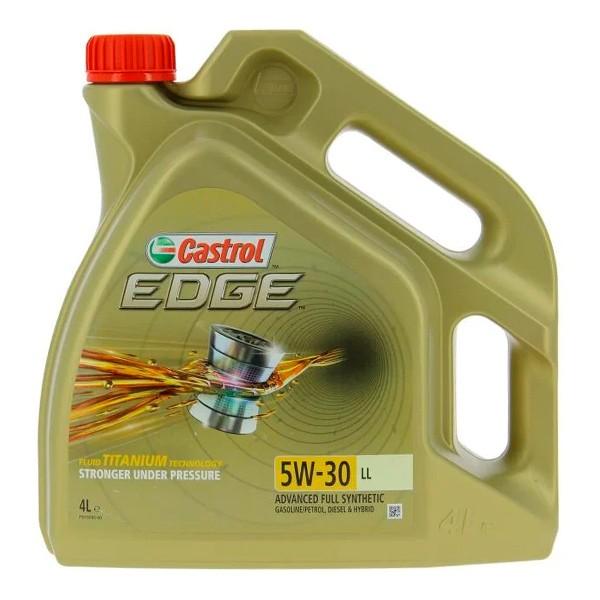 Aceite Castrol EDGE TITANIUM 5w30 LL 4L