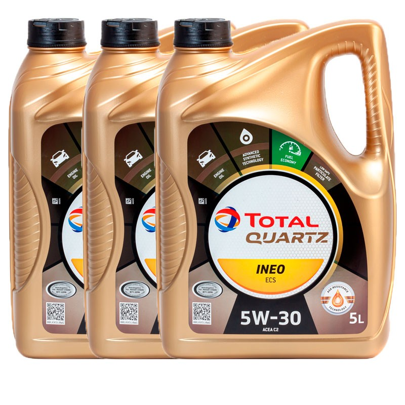 Aceite Total Ineo ECS 5w30 5Ltrs -LOTE 3 LATAS-