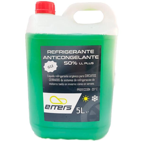 Anticongelante Emers 50% LL G12 Verde 5L