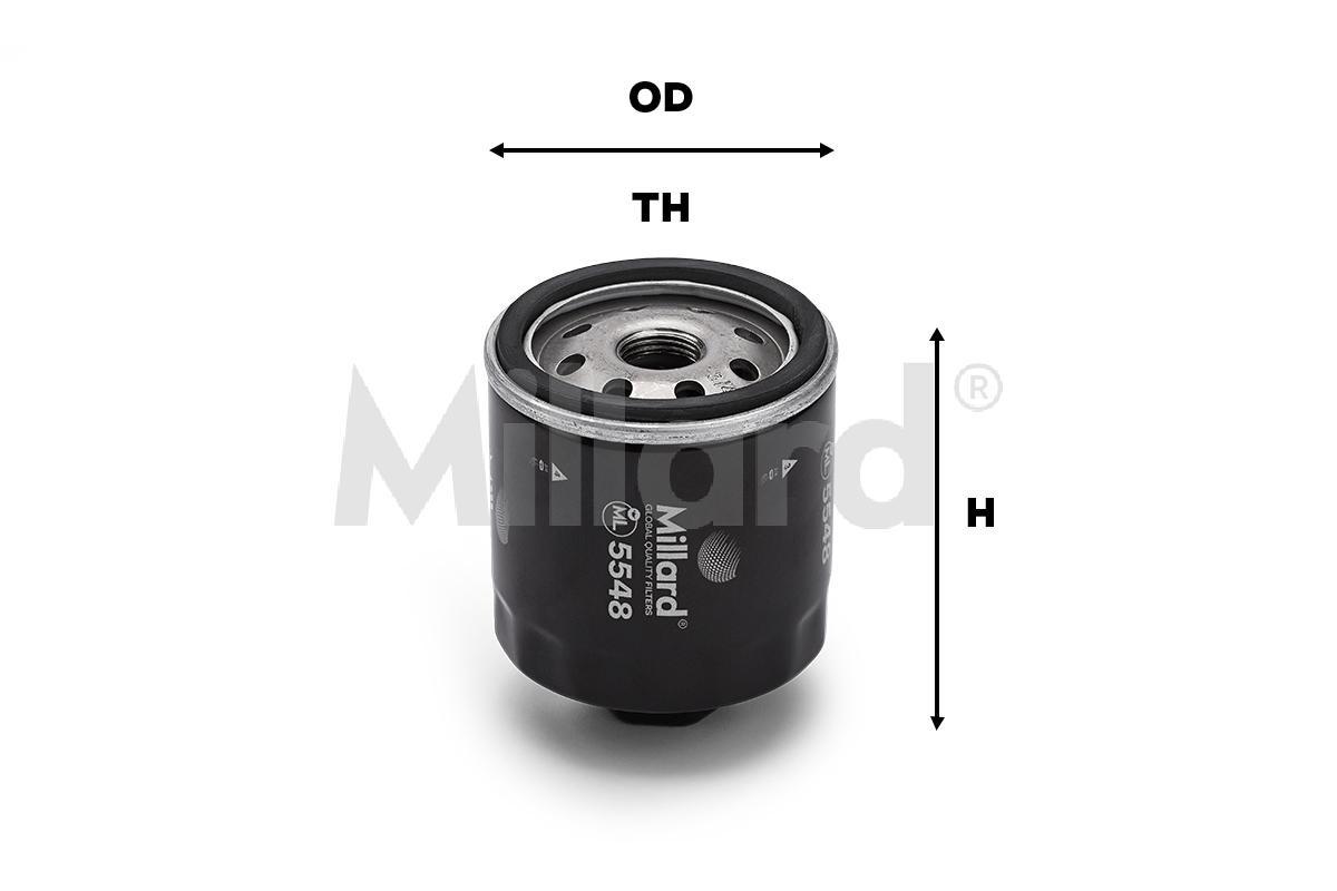 Filtro Aceite Millard ML-5548