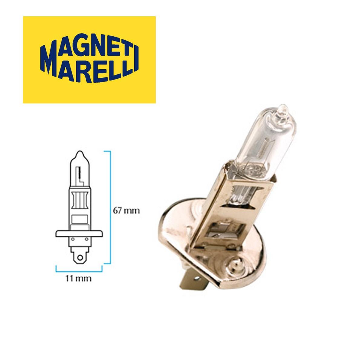 Lampara MAGNETI MARELLI H1 12V 55w UNIVERSAL