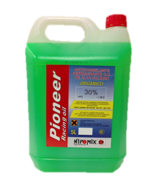 Anticongelante 30% organico verde Power-One 5Ltrs