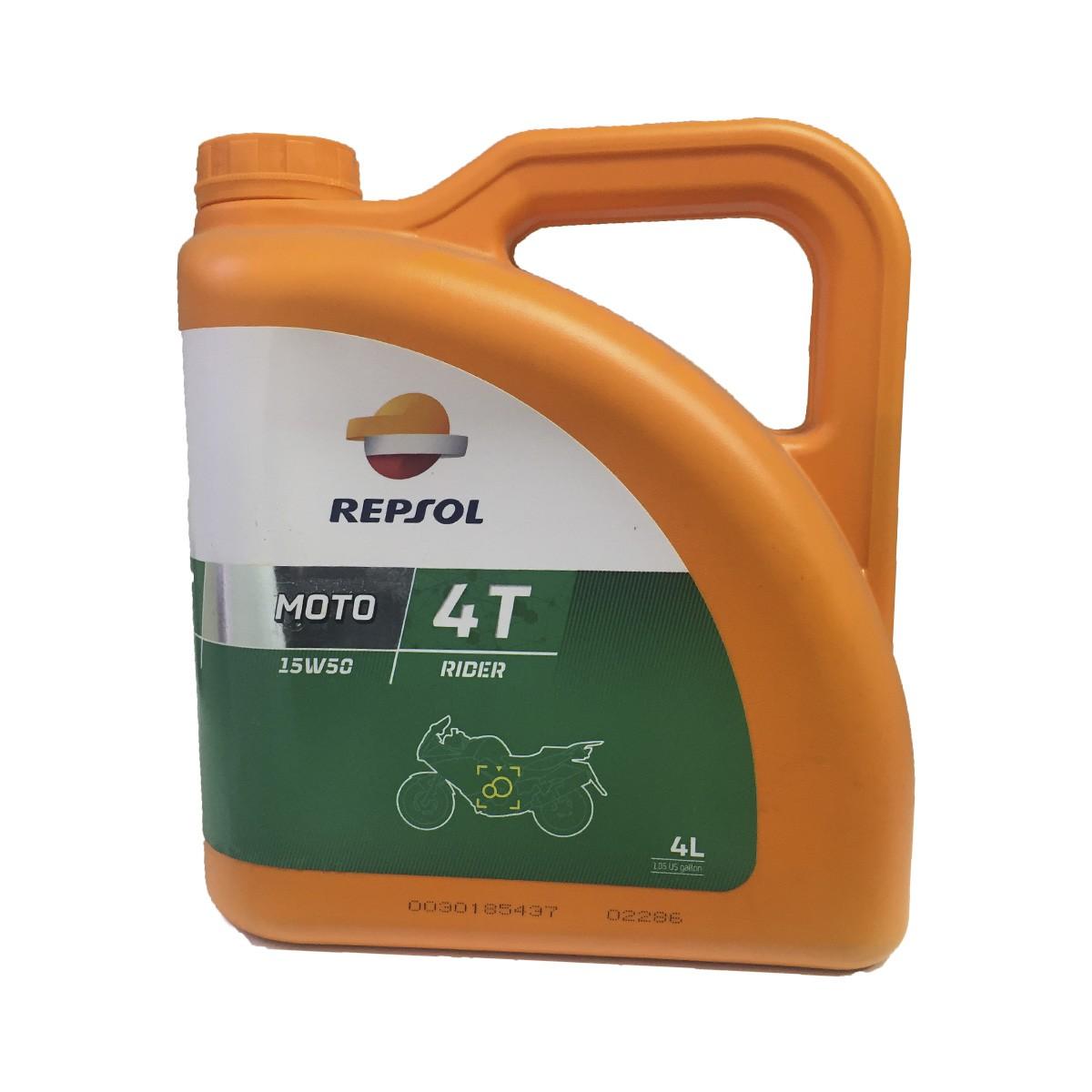Repsol Moto Rider 4t 15w50 4Ltrs