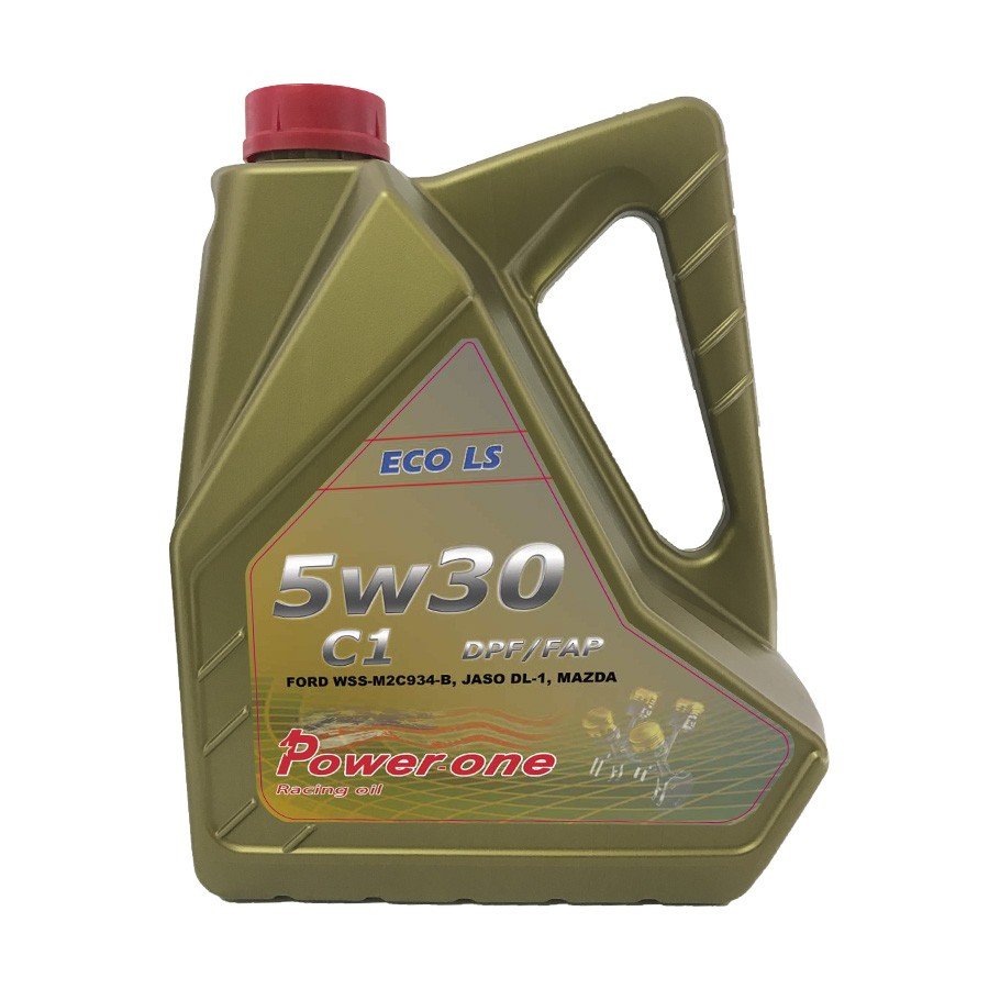 Aceite coche 5w30 Power-One C1 DPF Eco LS 5Ltrs