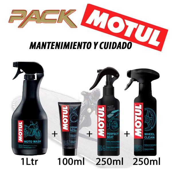 Pack Mantenimiento, Cuidado y Limpieza de la Moto Motul E6E2E4E3