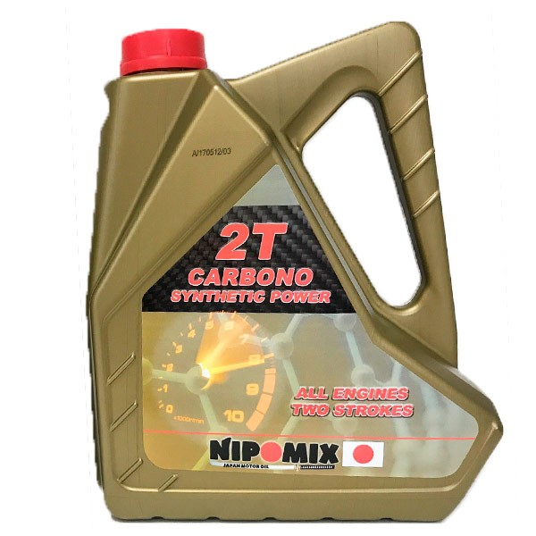 Aceite Nipomix Moto 2T CARBONO 5 Ltr