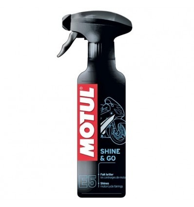 Limpiador Motul Shine and Go E5 400ml