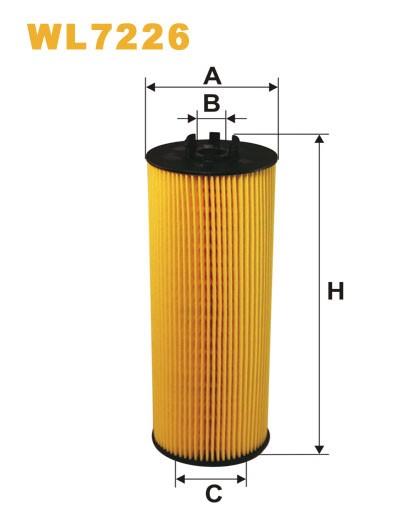 Filtro aceite Wix WL7226