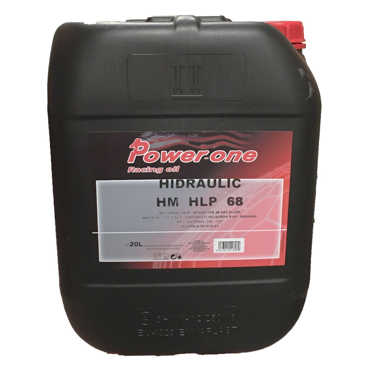 Powe One Hidraulico HLP-68 20Ltrs