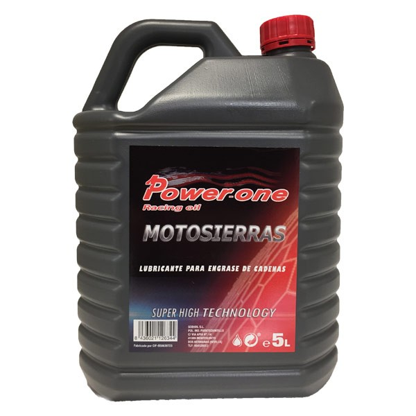 Aceite MOTOSIERRA Power-One 5Ltrs