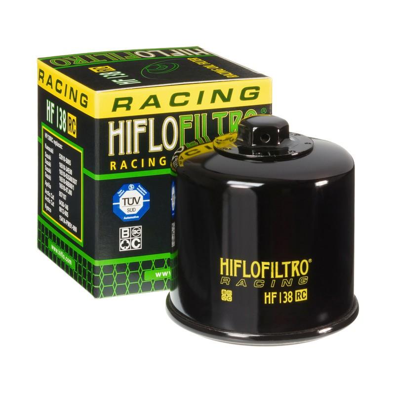 FILTRO ACEITE MOTO (RACING) HF138RC
