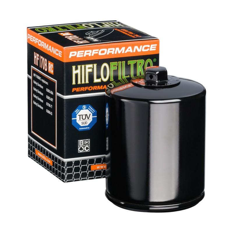 FILTRO ACEITE MOTO (NEGRO RACING) HF170BRC