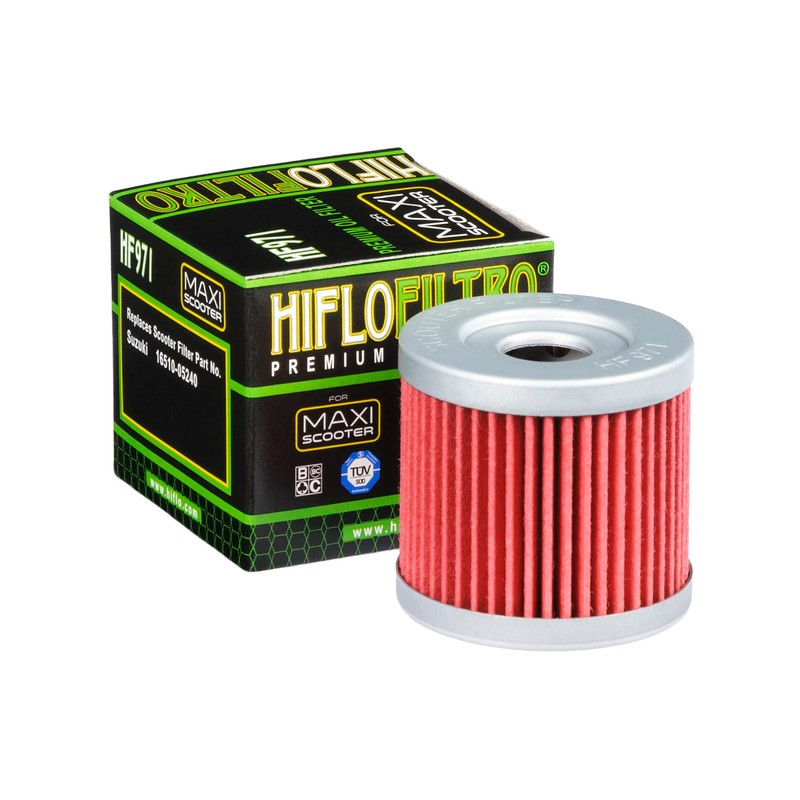 FILTRO ACEITE MOTO HF971