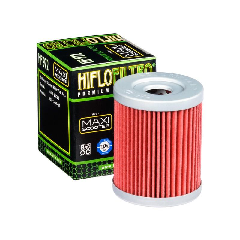 FILTRO ACEITE MOTO HF972