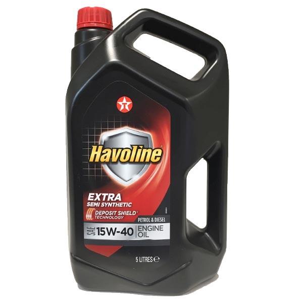 Aceite coche 15w40 Texaco Havoline 5Ltrs