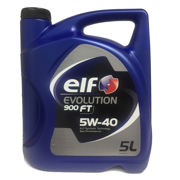 Aceite coche 5w40 Elf Evolution 900 FT 5Ltrs