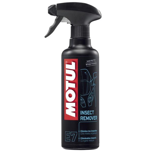 Motul Moto E7 Spray limpiador y quita insectos -mantenimiento y cuidado-